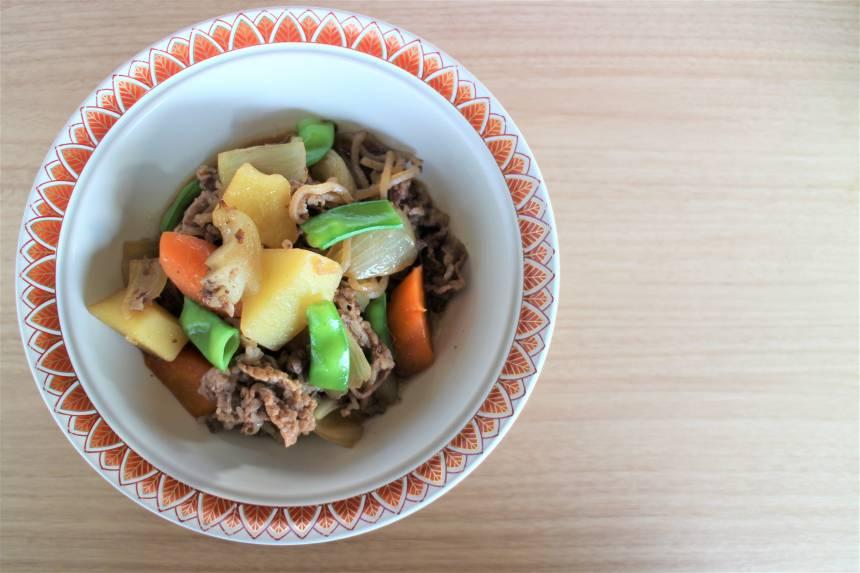 【おうちで加賀屋 #10】ご自宅でお料理を『能登牛の肉じゃが』のレシピをご紹介