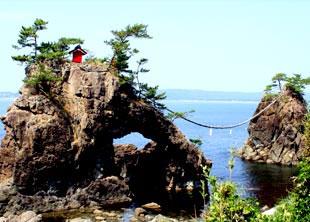 Hatago-Iwa Rocks